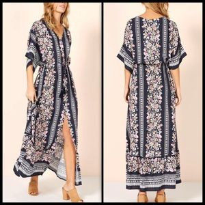 MINKPINK 🌙 In Bloom Maxi/Duster NWT